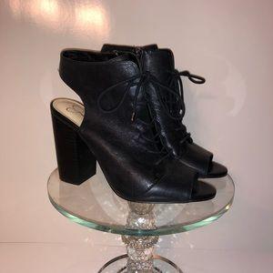 Jessica Simpson heeled booties